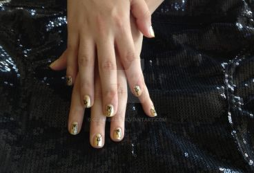 Michael Jackson Nails by Glam-Baby