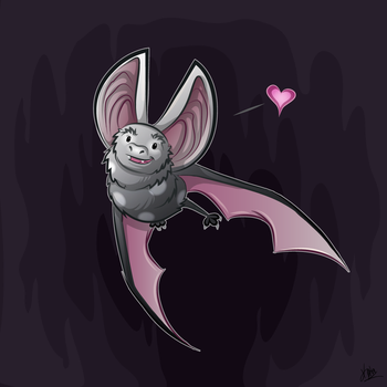 Spotted Bat by Kata