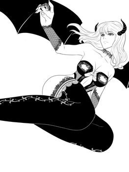 ink succubus by raimont