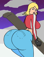 SSX: Elise Riggs by THICC-TOONZ