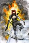 Winter Soldier rule 63 by AcidDaisy