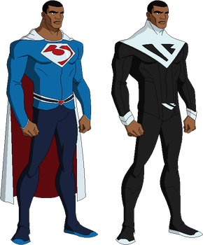 Superman redesign Earth 2 by derp99999