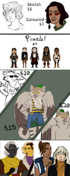 COMMISSIONS 2018 by catburd