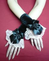 Gothic Castle Party Gloves by Estylissimo