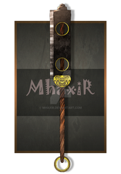 Weapon Commission by MhaxiR