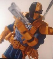 Deathstroke  New 52 SDCC preview by BLACKPLAGUE1348