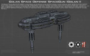 Golan Space Defense SpaceGun [Golan I][New] by unusualsuspex