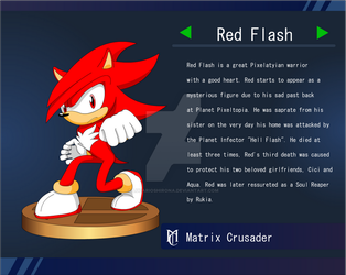 Red Flash Trophy by LucarioShirona