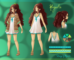 Magnolia reference by Mynalia