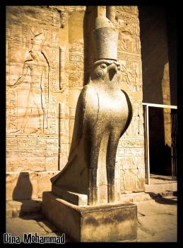 Horus, The God Of Kings by dinamohammad