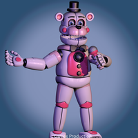 Funtime Freddy V2   WIP2  (4K) by GamesProduction