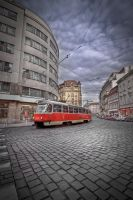 Prague - tram by lesogard
