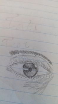 Eye doodle by dragonicoverlord14