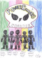 PowerRangers Monster Battalion by werewolfwannabe1224