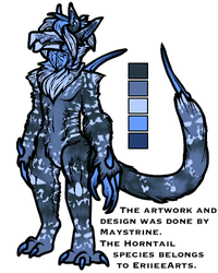 Random Horntail Test Design (Sold) by Maystrine