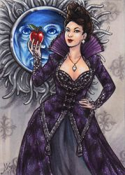 PSC - Evil Queen Regina by AmyClark