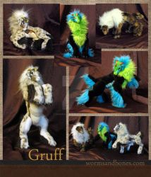Gruff by WormsandBones