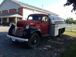 Classic Dodge fuel tanker by Ripplin