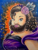 Bearded Lady by chill13