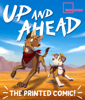 Up and Ahead - the PRINTED Comic! by Skailla