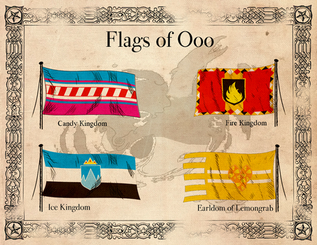 Flags-of-ooo by ThaDrummer
