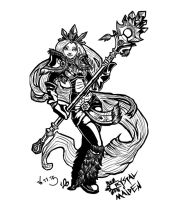 Crystal Maiden DOTA 2 Fanart by camup