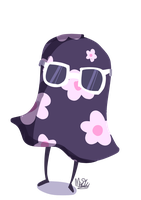 just a floral ghost by CrazyDonut4557