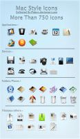 Huge Mac style icon collection by ipapun
