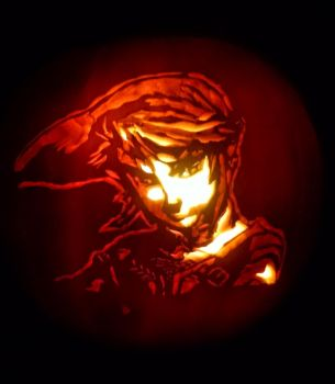 Link Pumpkin Carving 2015 by familybarton