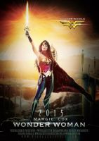 2015 Wonder Woman Teaser Poster by AxteleraRay-Core