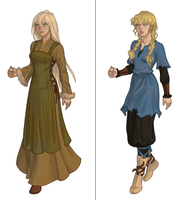 Viking chick (next dress up game) by AzaleasDolls