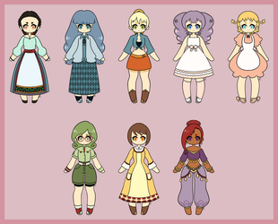Harvest Moon Bachelorettes: Tree of Tranquility by AsterianMonarch