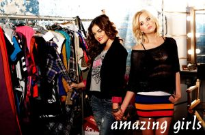 Lucy hale , Ashley Benson by IsaDesings