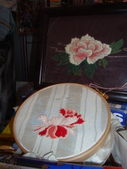 first try japanese embroidery by Mu-chan