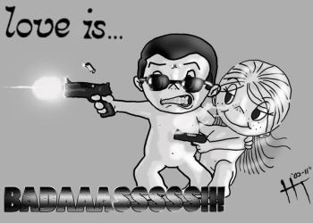 Love is badass by TheHonorableMcNasty