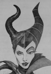 Maleficent 2014 | 1959 by AnaLuisita95