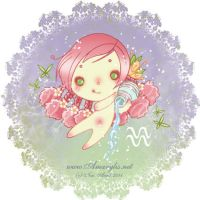 Astrological sign aquarius by Nailyce