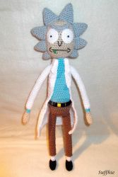 Rick Sanchez by suffhie