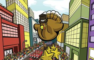 Thanksgiving Parade by mike-loscalzo