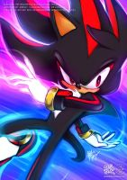 Shadow the Hedgehog - CHAOS CONTROL by goldhedgehog