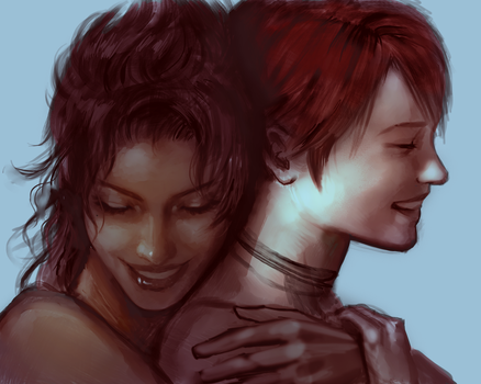FFXIII: fang and vanille by atutcha
