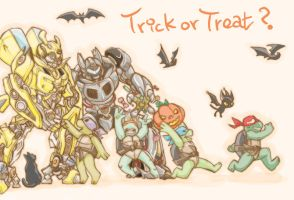 2007 Trick or treat? by chingc