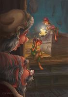 The Elves and the Shoemaker 2014 7 by RosieVangelova