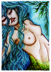 ACEO-Mermaid by atorife