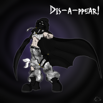 [Requests/giveaway] Dis-a-ppear! by AndreaJens