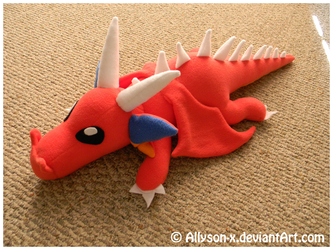 Dragon OC Plush by Allyson-x