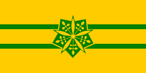 Alt Flag - Principality of Manchuria by AlienSquid