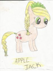 Apple Jack Drawing by ShiningRainbow99