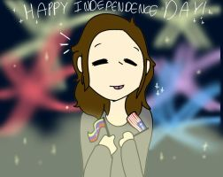 happy (late for USA) independence day! by Luna-Spark
