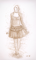 Gothic Girl by mbah